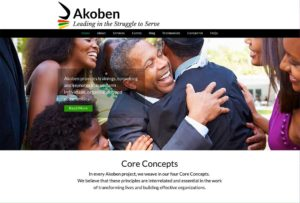 Photo of Akoben Home page